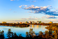 Spring Skyline - Yellowknife